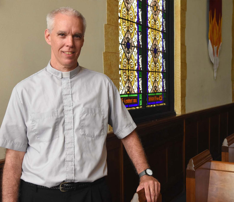 Pastor Chris Rothharpt