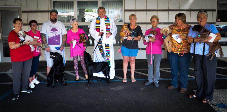blessing of the animals 2018 10   Trinity Lutheran Church