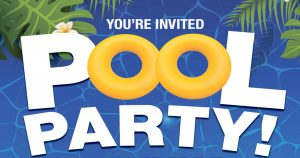 POOL PARTY - Rescheduled to July 20th @ JFK Recreation Complex | Pottsville | Pennsylvania | United States